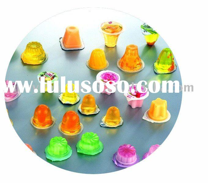 small cup Jelly filling sealing machine