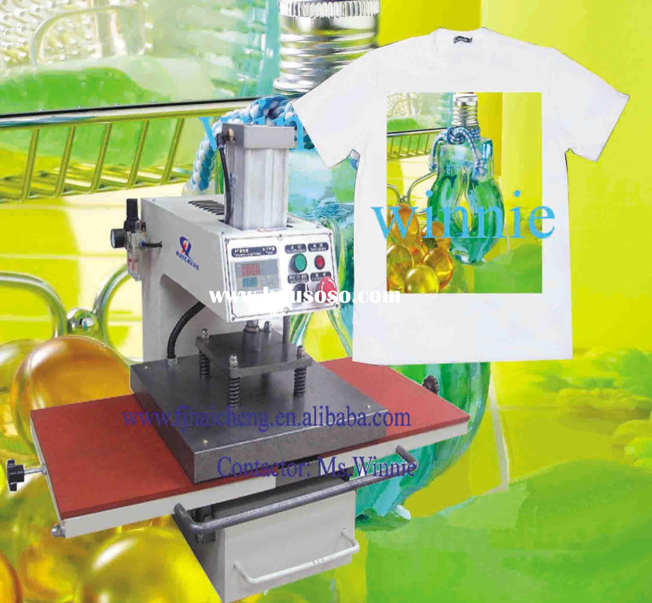 sport jersey sublimation heat transfer machine
