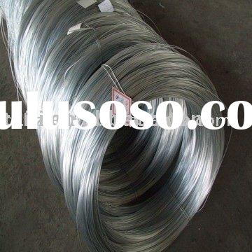 spring steel wire, electric galvanized steel binding wire,bright/ galvanized steel wire