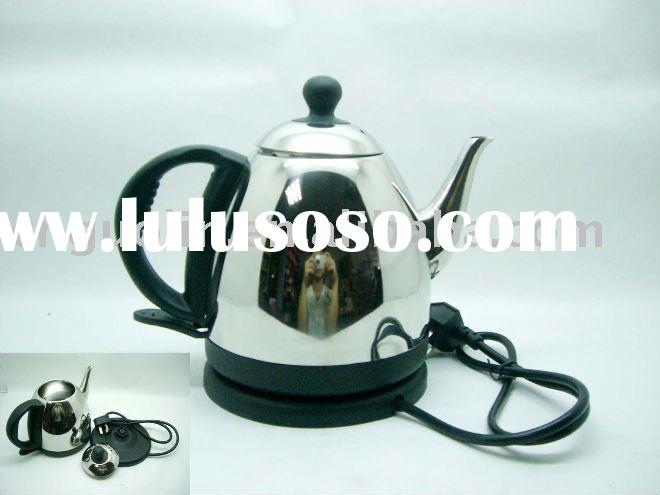 stainless steel electric kettle (wired,auto switch-off)