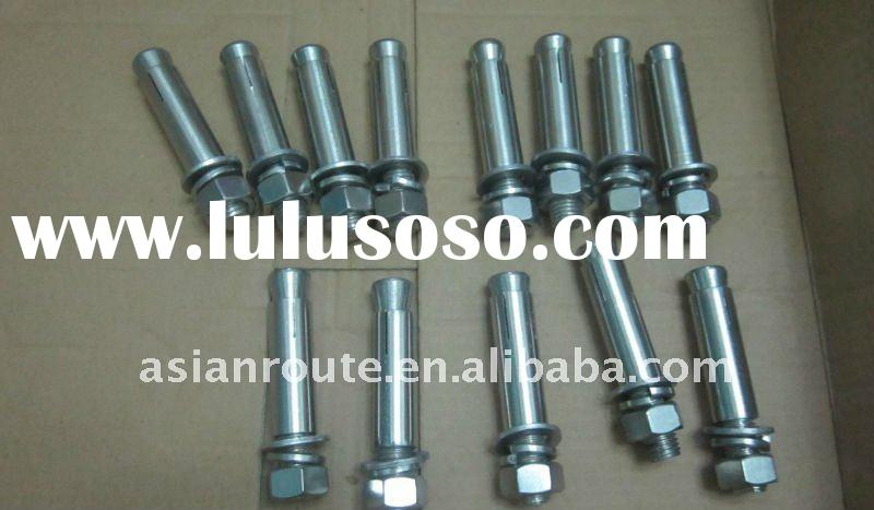 stainless steel through bolt,anchor bolt,expansion anchor bolt,chemical anchor,sleeve anchor for sta