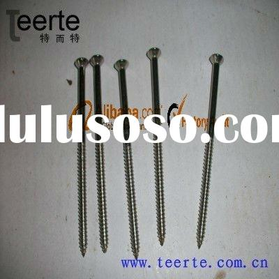 stainless stell Phillips flat head wood screw