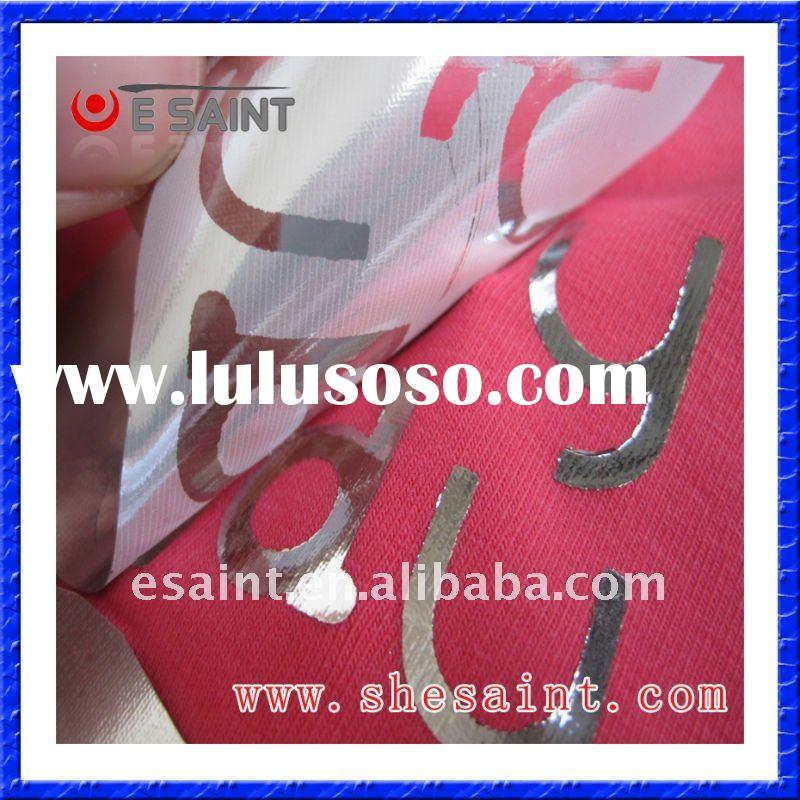 thermal heat transfer foil for fabric