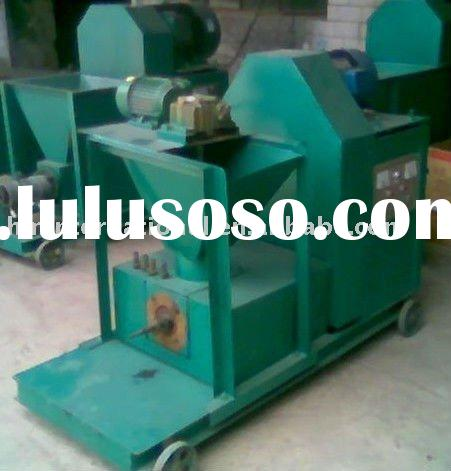 top quality coconut shell charcoal briquette machine