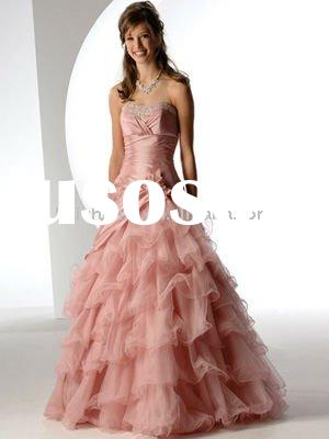 tulle sweetheart ball gown floor length beads evening dress 2011 prom dress