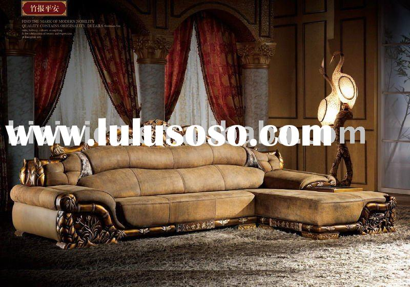luxury royal leather sofa set bx588 for sale