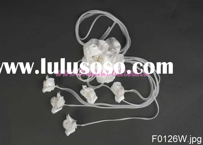 wedding dress flower/garment flowers