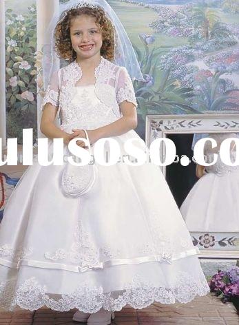 wedding dress,flower girl dress HSF-001