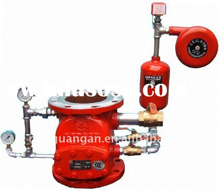 wet alarm valve (fire fighting equipment)