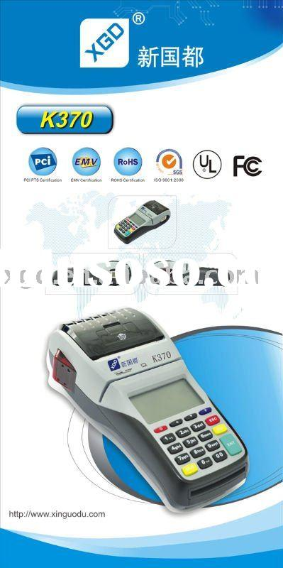 wireless GPRS/GSM handheld pos terminal