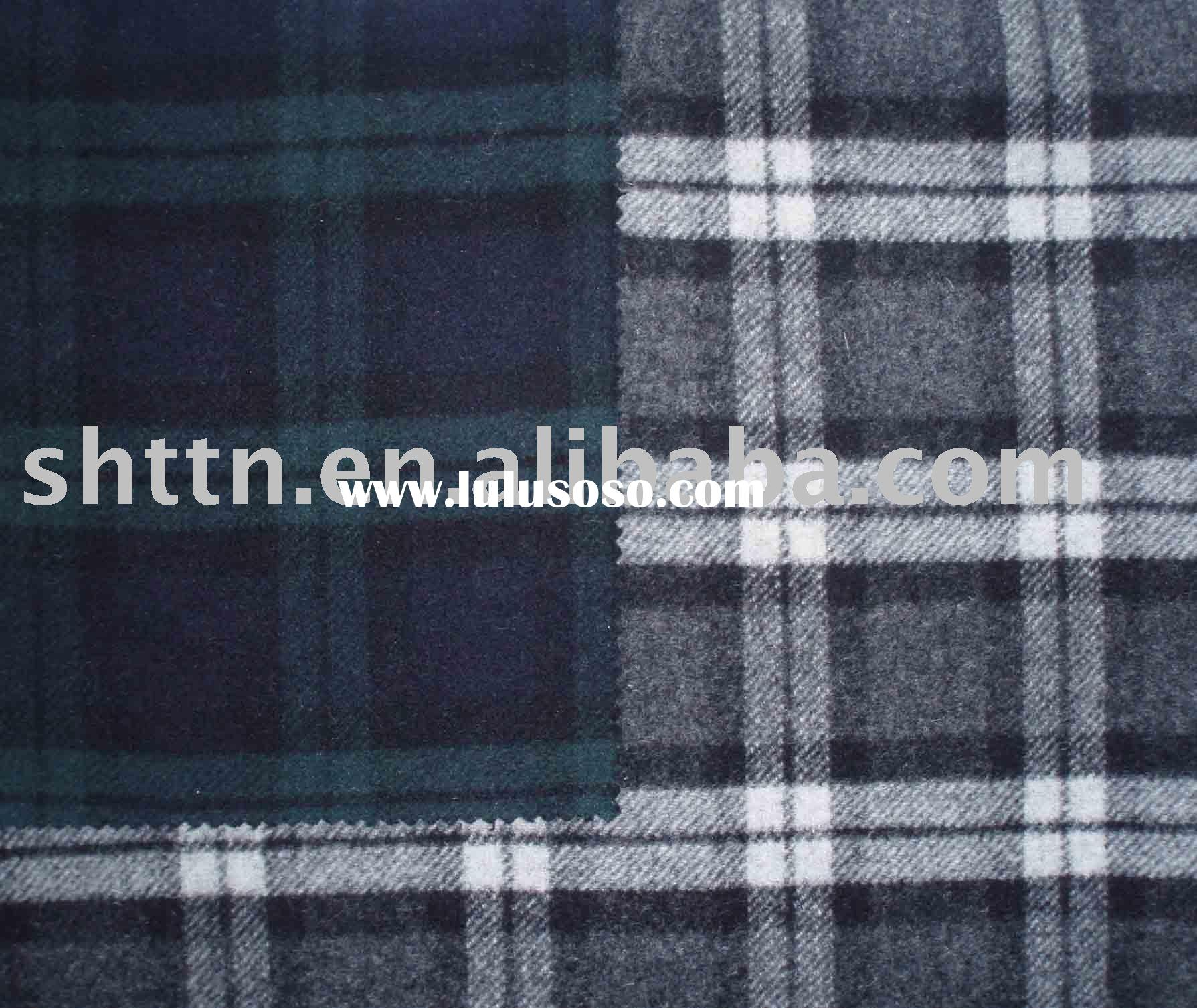 wool fabric/woven/coat fabric/double sides/for fall/winter coat