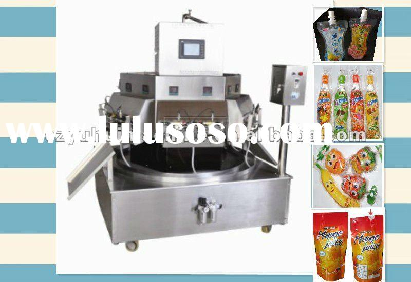 yogurt pouch filling sealing packing machine