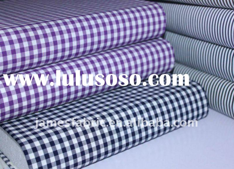 100%cotton gingham fabric