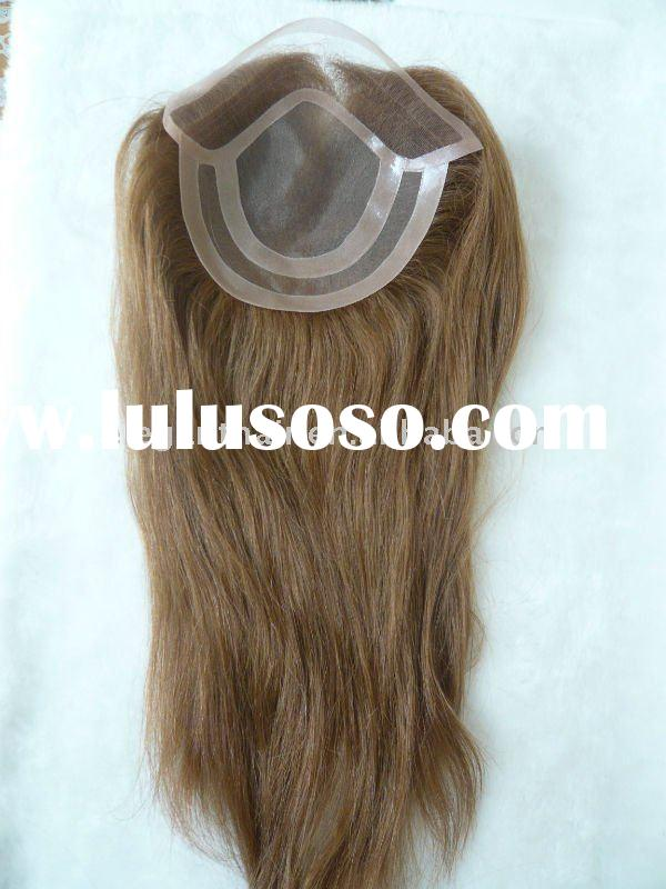 14 inch fine mono with swiss lace front indian hair closure pieces