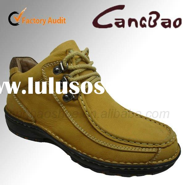 2011 Hot Sale! Genuine Leather Mens Fashion Ankle Boots