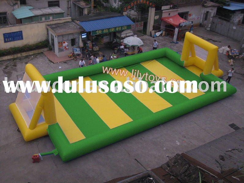 2011 inflatable football field/ inflatable sport