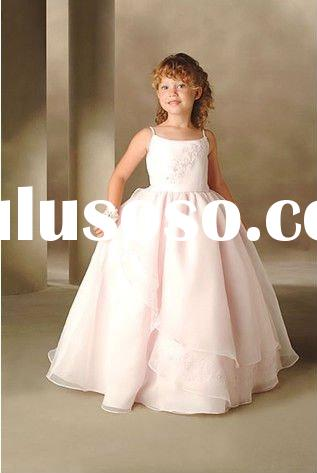 2011 new arrival beautiful Lovely cinderella fairy princess BB0013 Flower Girl Dress