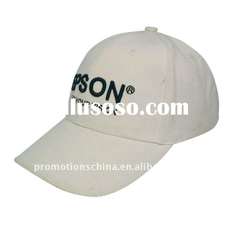 2012 HOT !!Fashion 100% Cotton Sports Caps