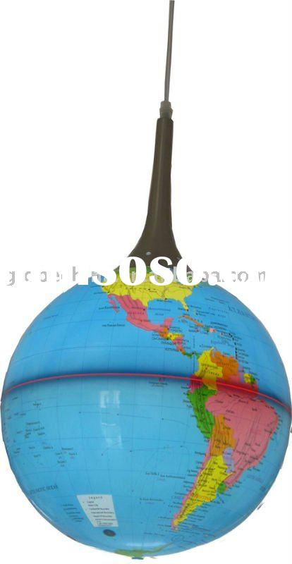 32cm or 13 inches hanging globe with energy efficient light bulbs