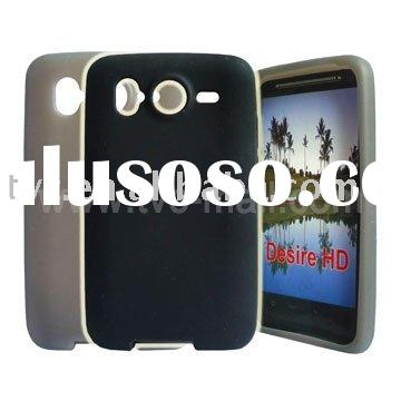 Brand New High Quality Soft Silicone Case for HTC Desire HD
