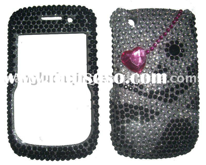 Cell Phone Bling Pearl Rhinestone crystal Case For HTC HERO