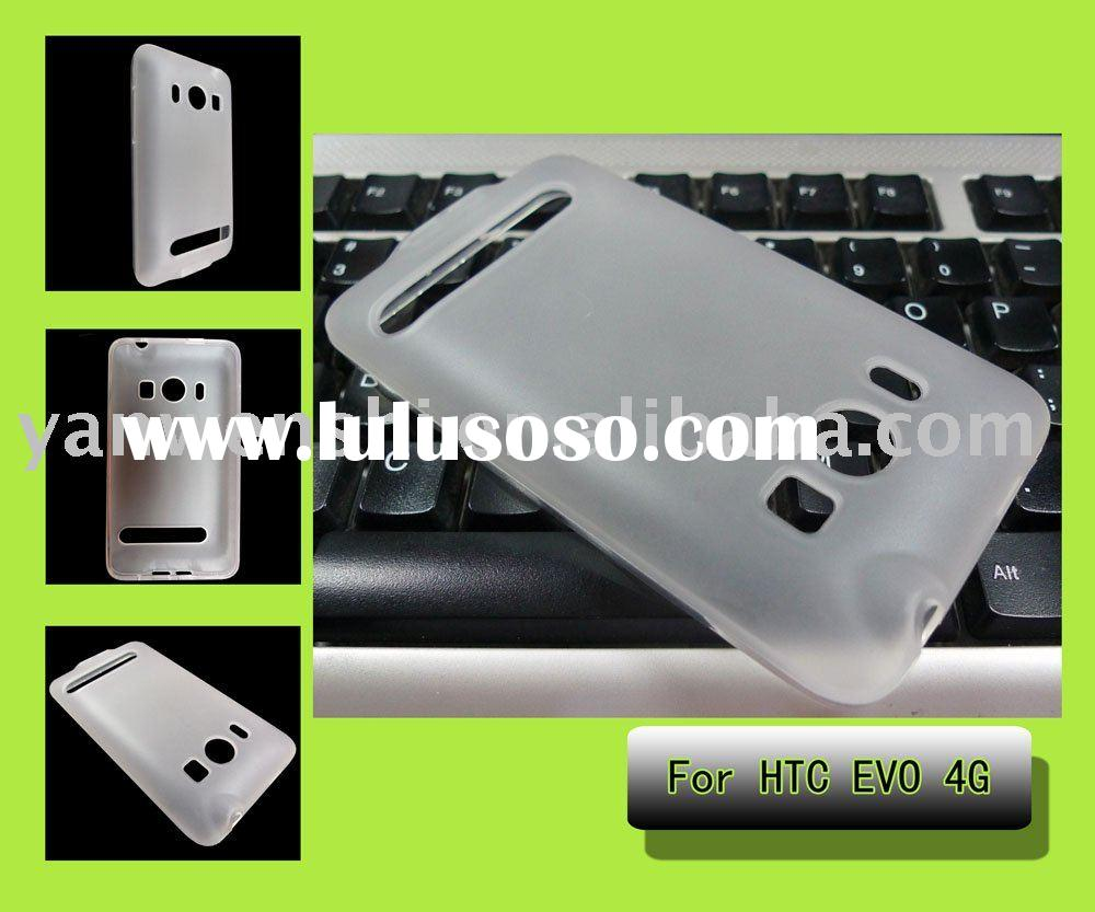 For HTC EVO 4G TPU Mobile Phone Case-- Frosted Design