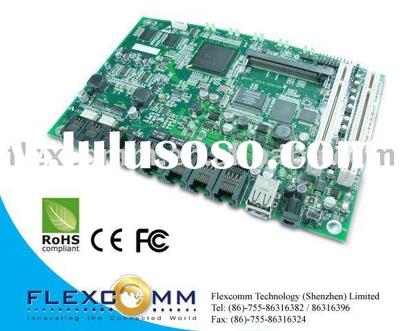 IXP435 based MonteGold Router Board with 5 port LAN / WAN + VoIP (FXO/FXS) + MiniPCI slot for Wirele