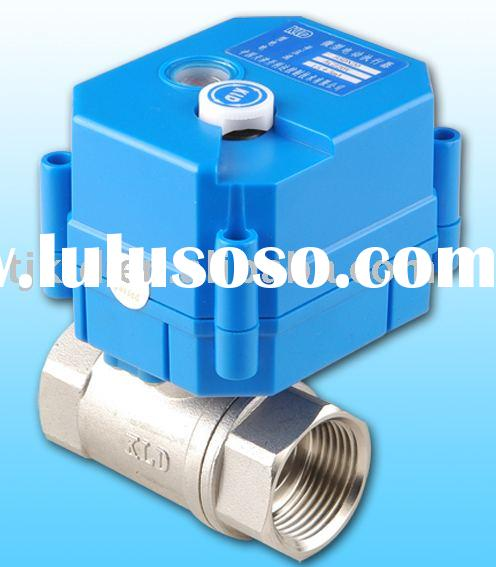 KLD 20S Mini 2-way motor actuated ball Valves for automatic control, HVAC, water treatment