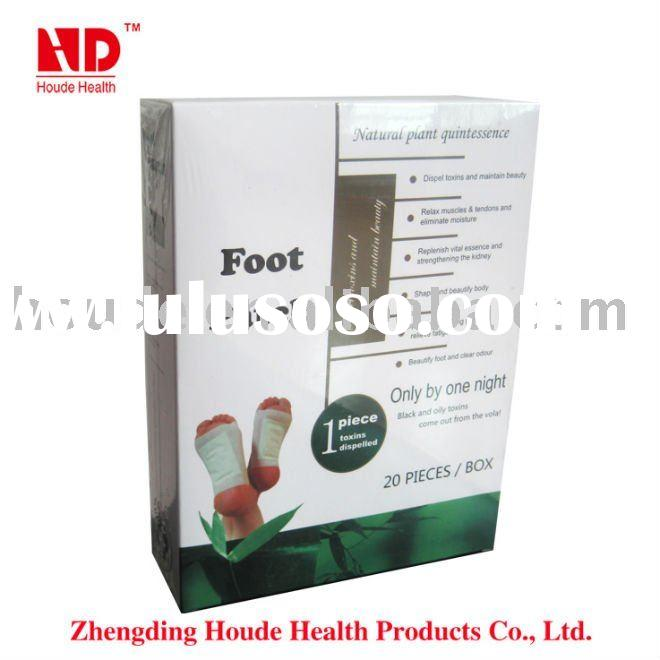 Manufacturing factory ! high quality detox foot patch