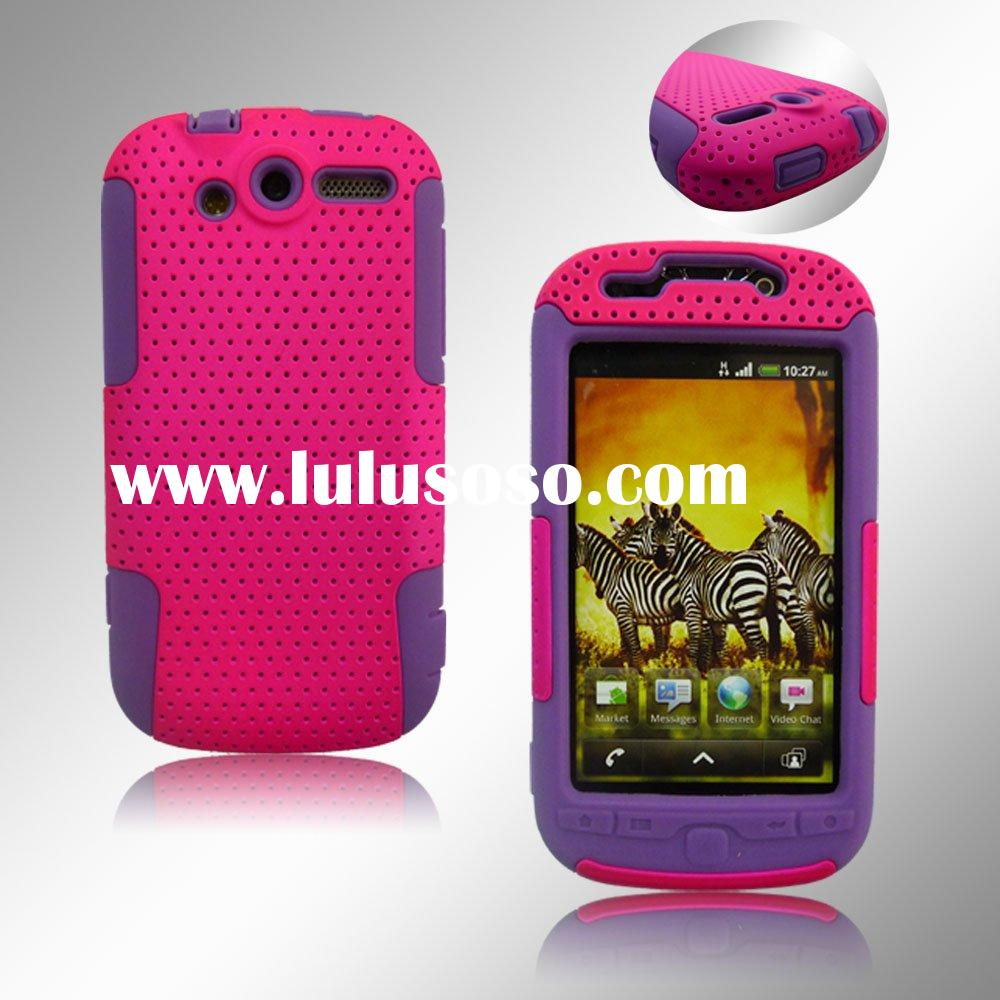 Mesh Hybrid Cell Phone Case For HTC Mytouch 4G