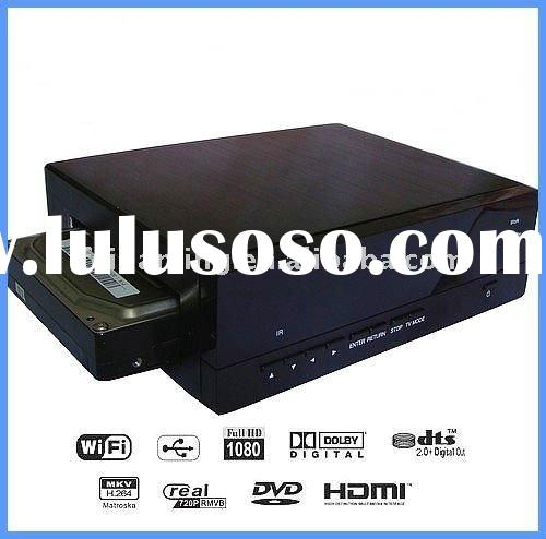Sata Hight Definition TV Network HDD Media Player with Recorder WIFI 1080P