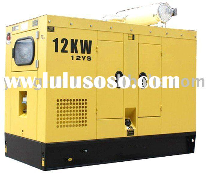 Water cooled engine power electric soundproof diesel generator
