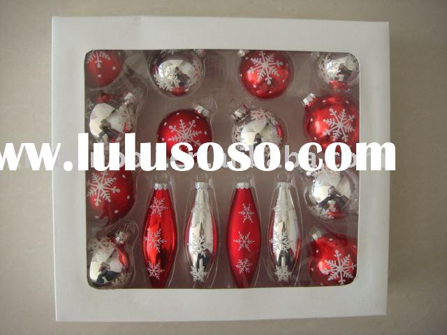 Xmas glass ball,christmas gift,home decoration