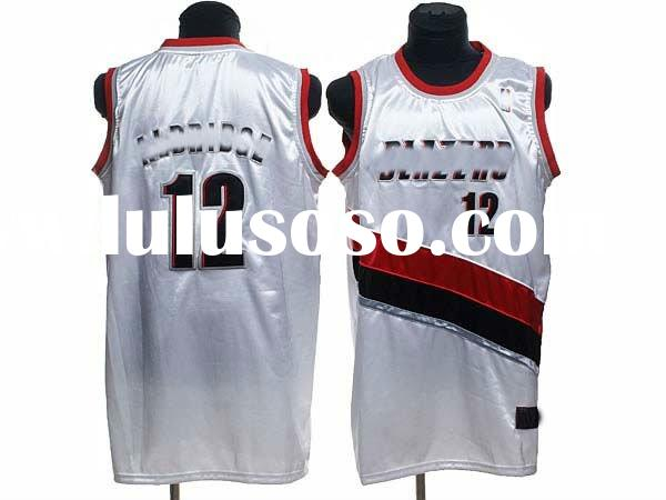 accept paypal,2012 hot selling wholesale fashion design basketball jersey