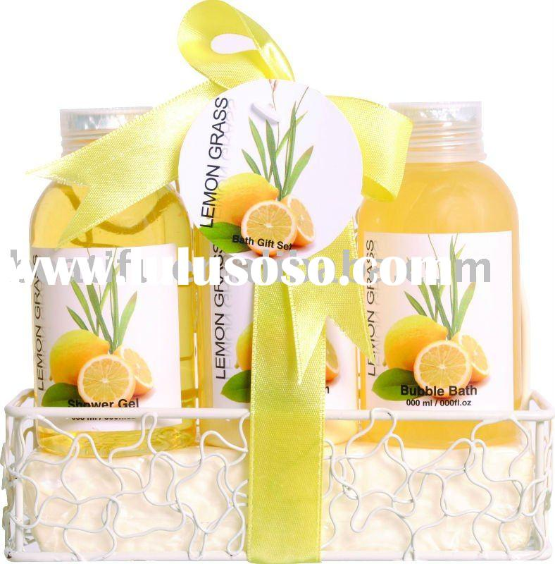 antibacterial bath and body product/ shower gel set