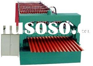 arch roof roll forming machine