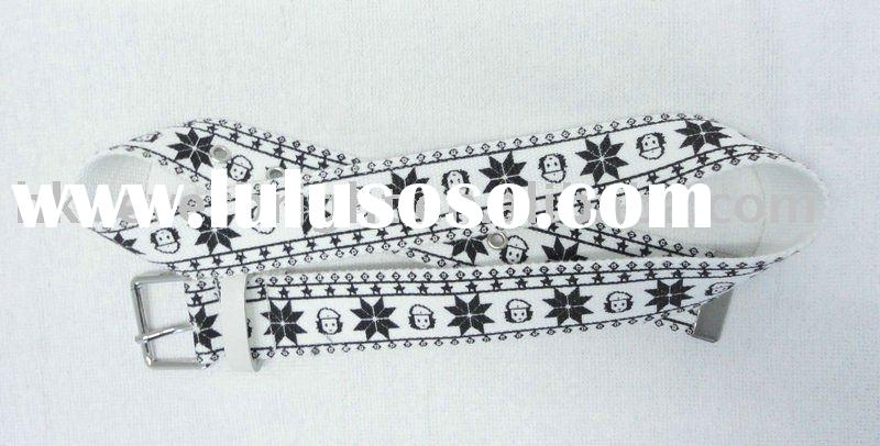 canvas belt for fashion accessory alloy buckle and men fashion webbing belts