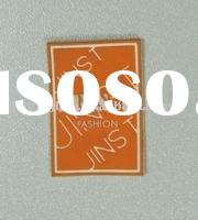 fancy silicone label