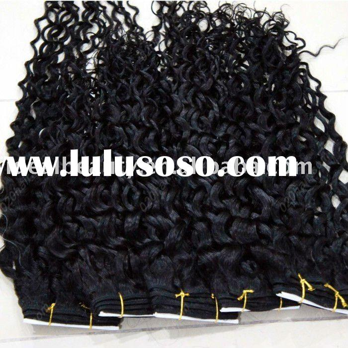 fashion indian afro kinky curly remy human hair weave