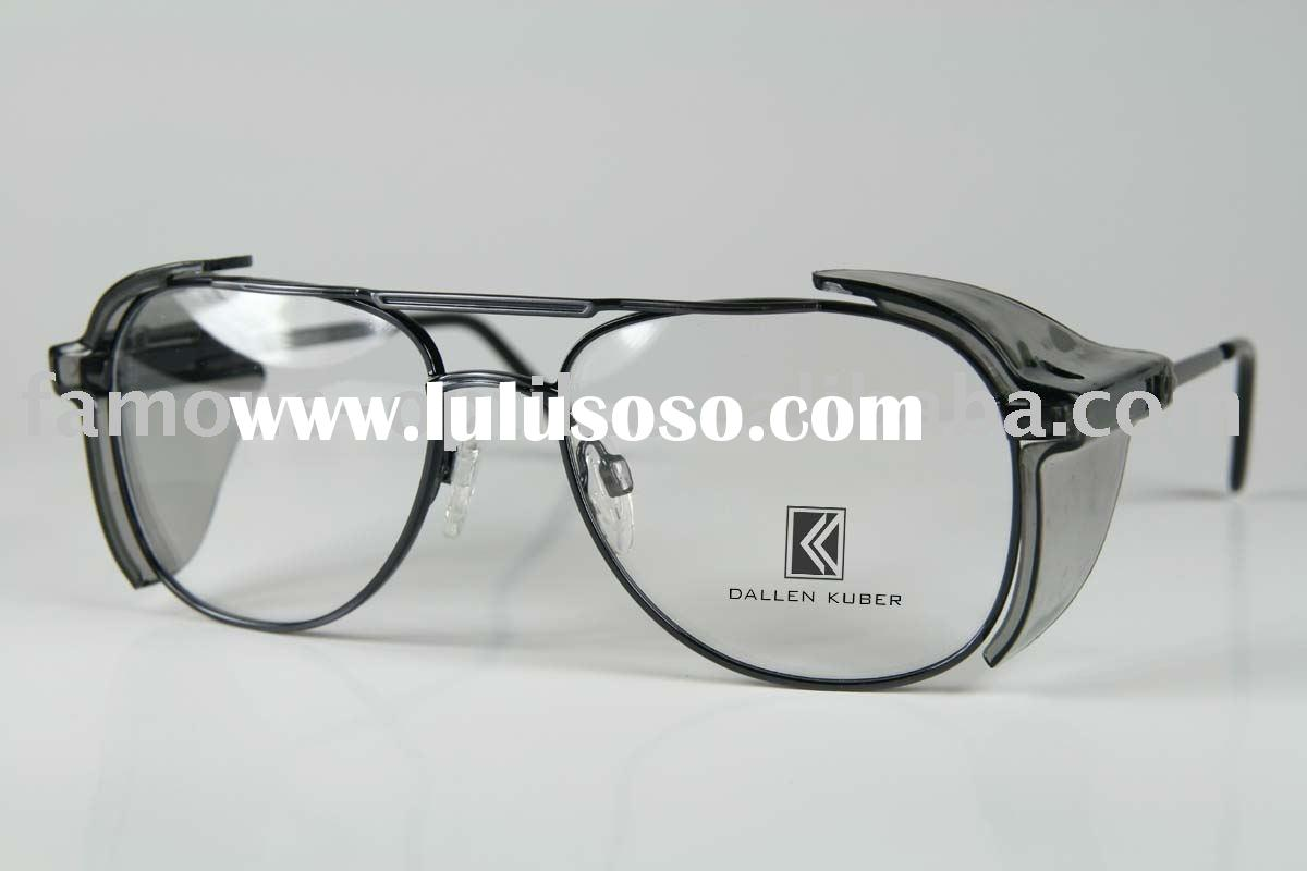 fashion! metal stylish safety glasses eyewear frame