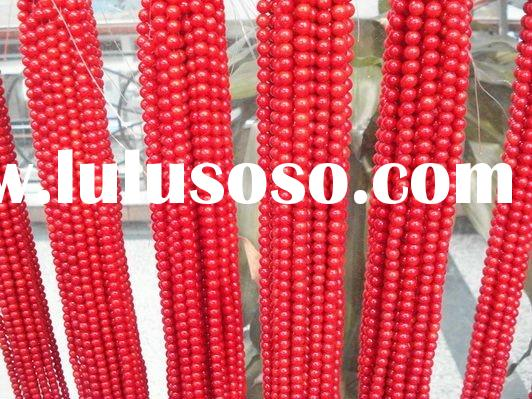 fashion red coral beads
