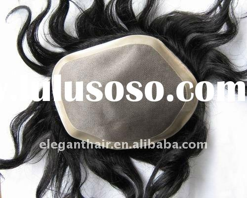 fine mono lace hair piece for men and women