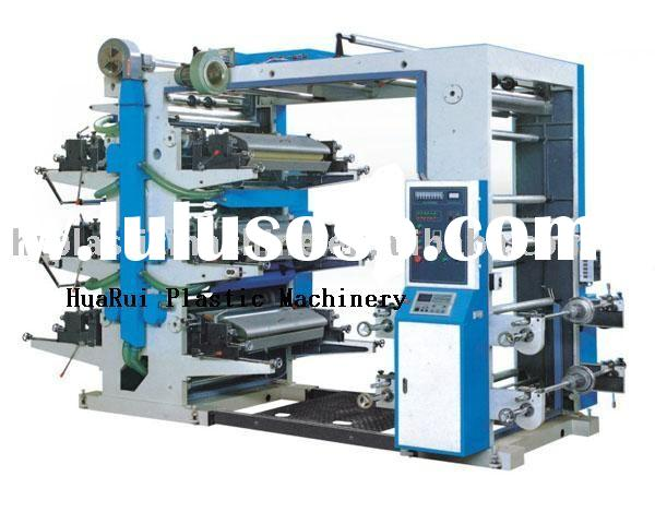 flexo printing machine 6 colors