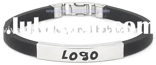 germanium ,negative ion , far infrared Silicone bracelet,negative ion rubber bracelet,magnetic silic