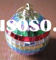 mirror glass christmas ball ornament