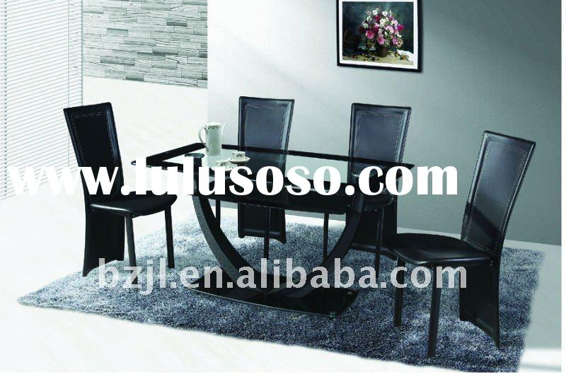 new style modern design glass dining table