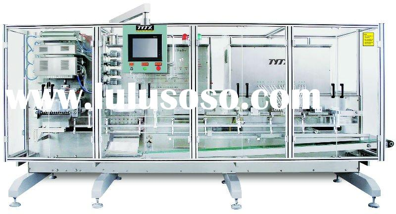 plastic ampoule filling and sealling machine