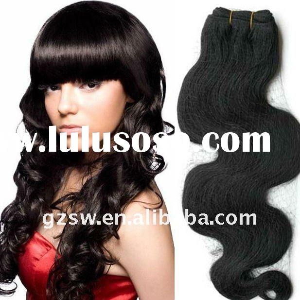 quality afro curly hair extension weft