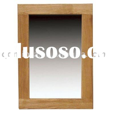 solid oakhanging mirror