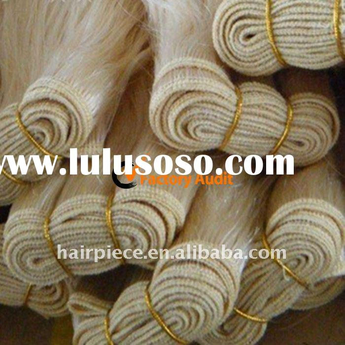 wholesale chinese and indian human hair weft/weaving(Factory Audited)